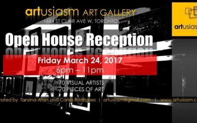 Exhibiting at Artusiasm Art Gallery
